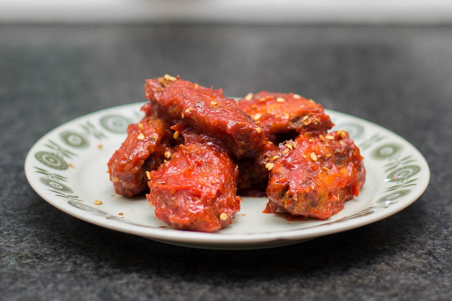 Sriracha hot wings | Oppskrifter | Matinspirasjon