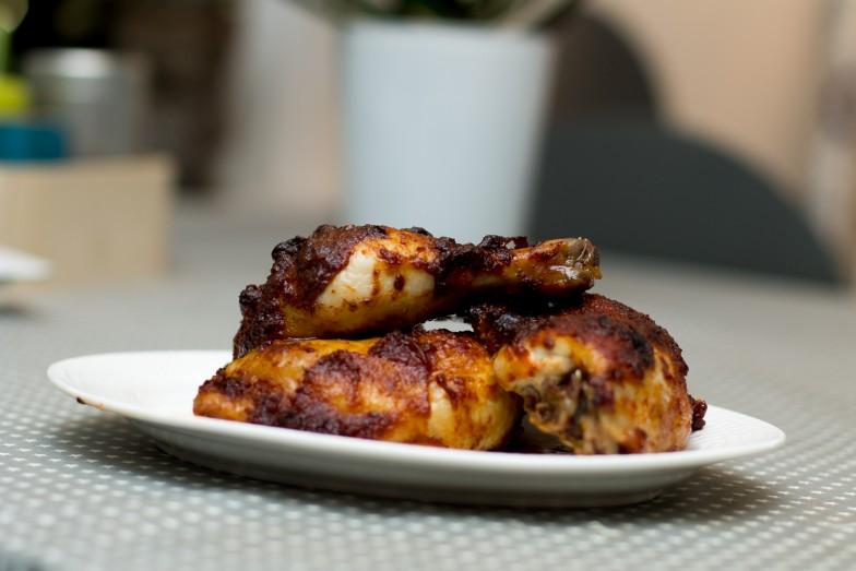 Paprika- og chilimarinert kyllinglår