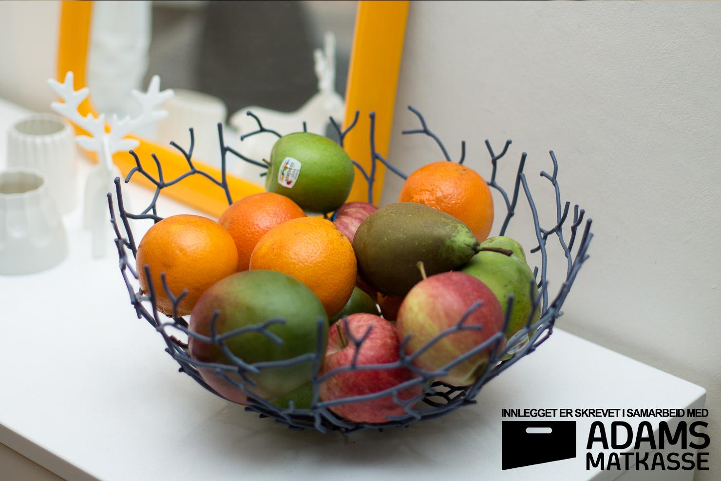 Adams Matkasse | Fruktkassen