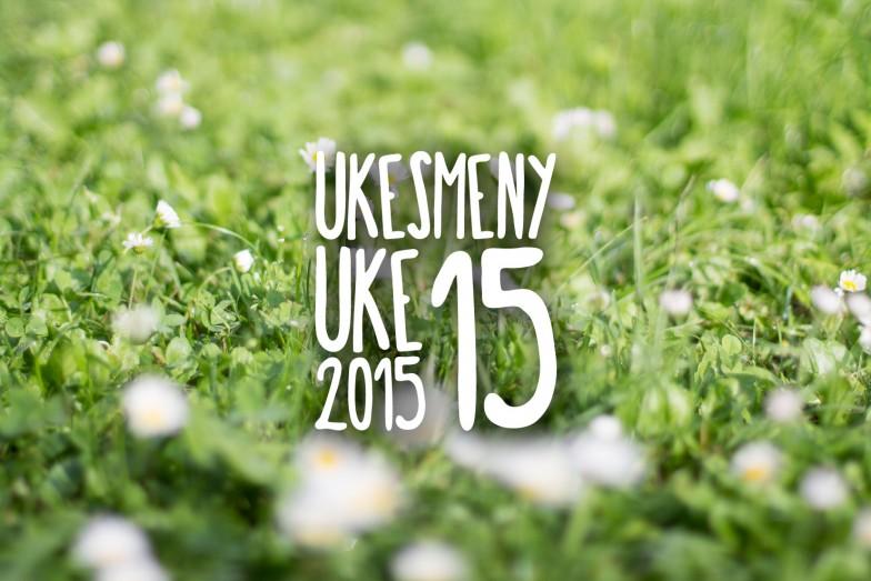 Ukesmeny | Uke 15 | 2015