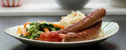 Pølse og potetstappe