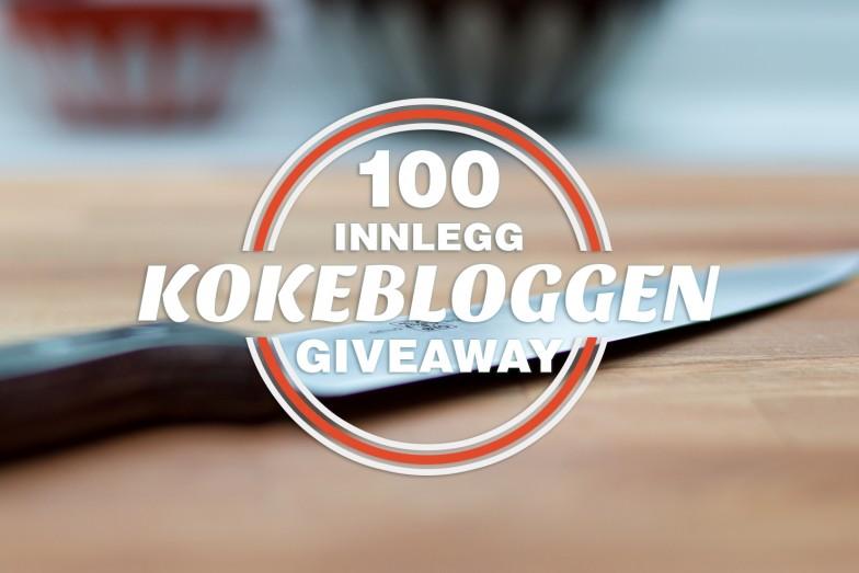 Promo | Innlegg 100 | Kokebloggen