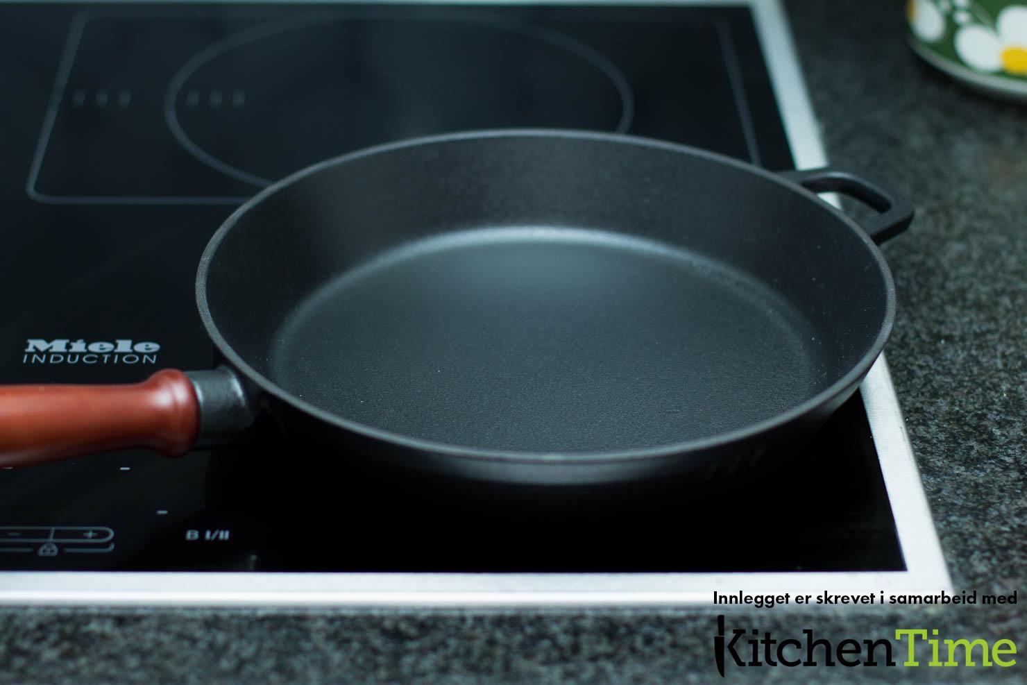 Stekepanne | Spaghetti og kjøttboller med enkel marinarasaus | Kitchentime