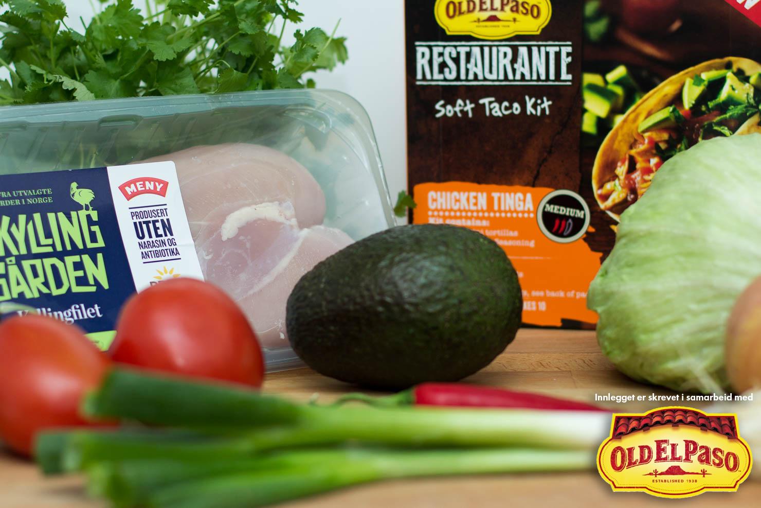 Ingredienser | Chicken tinga | Old El Paso