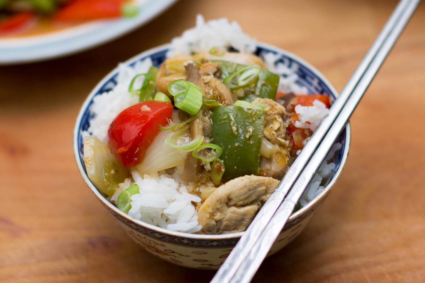Closeup | Szechuan kylling