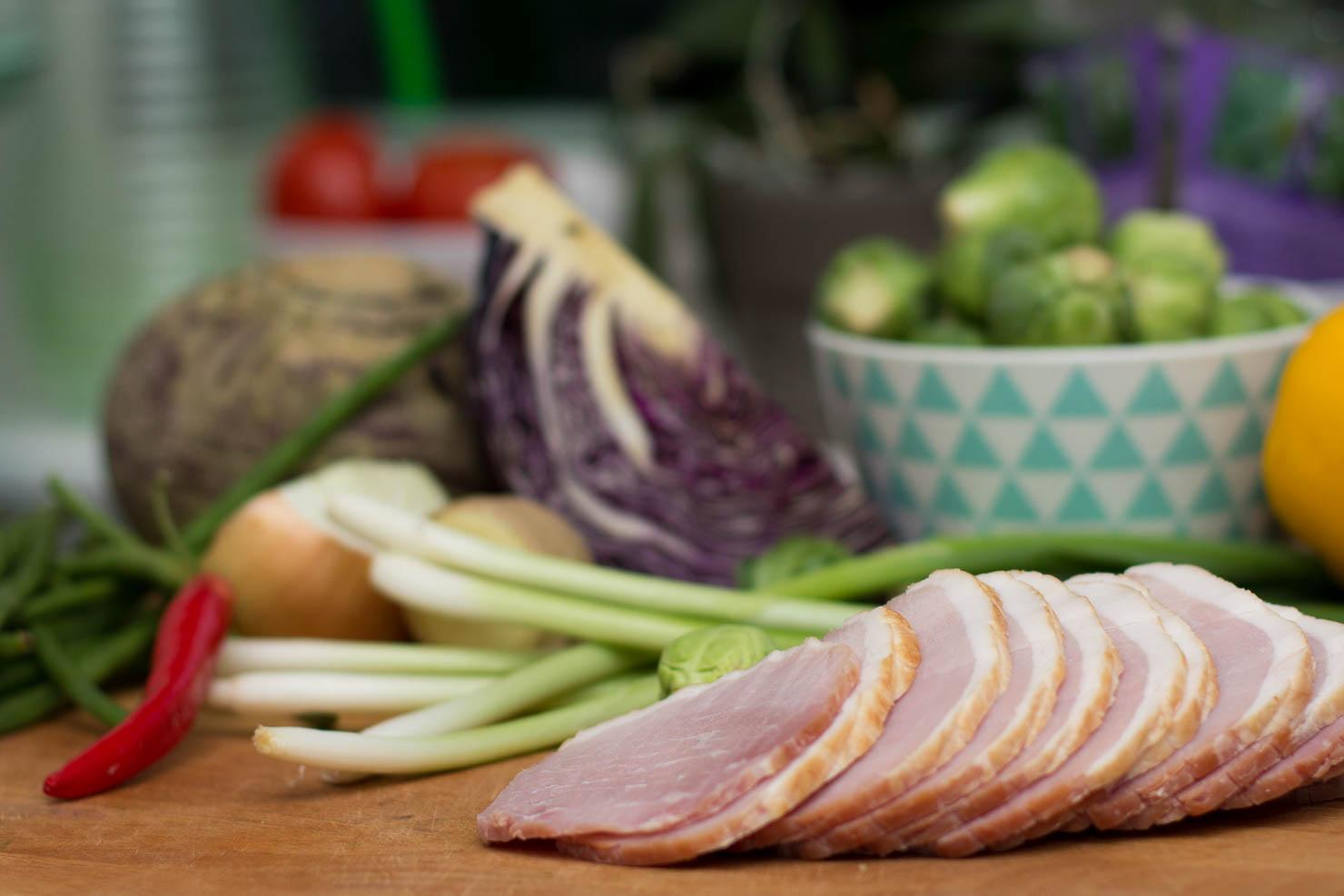 Ingredienser | Julewok med klementinsaus