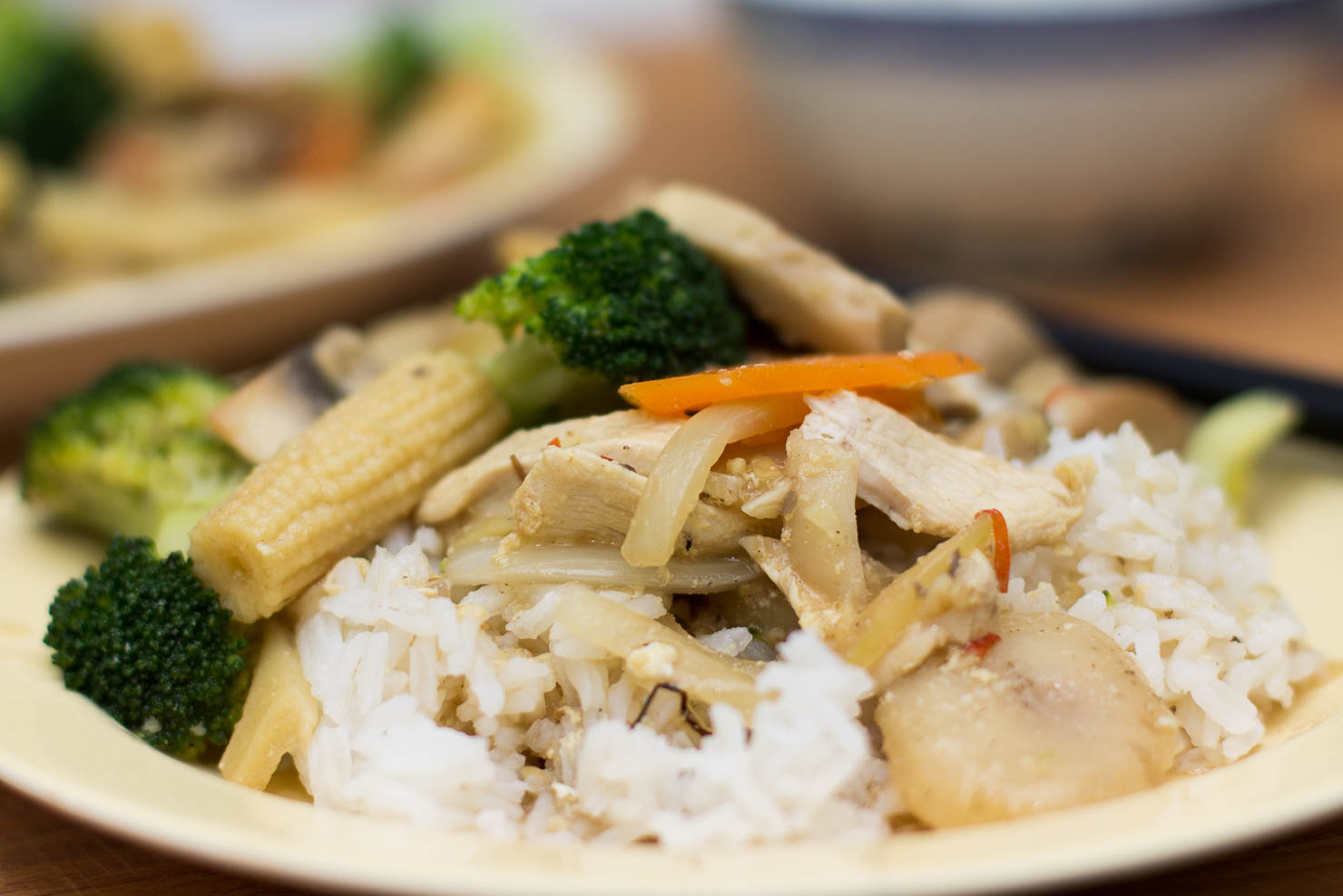 Tallerken | Kylling chop suey