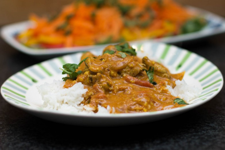 Featured | Kylling tikka masala