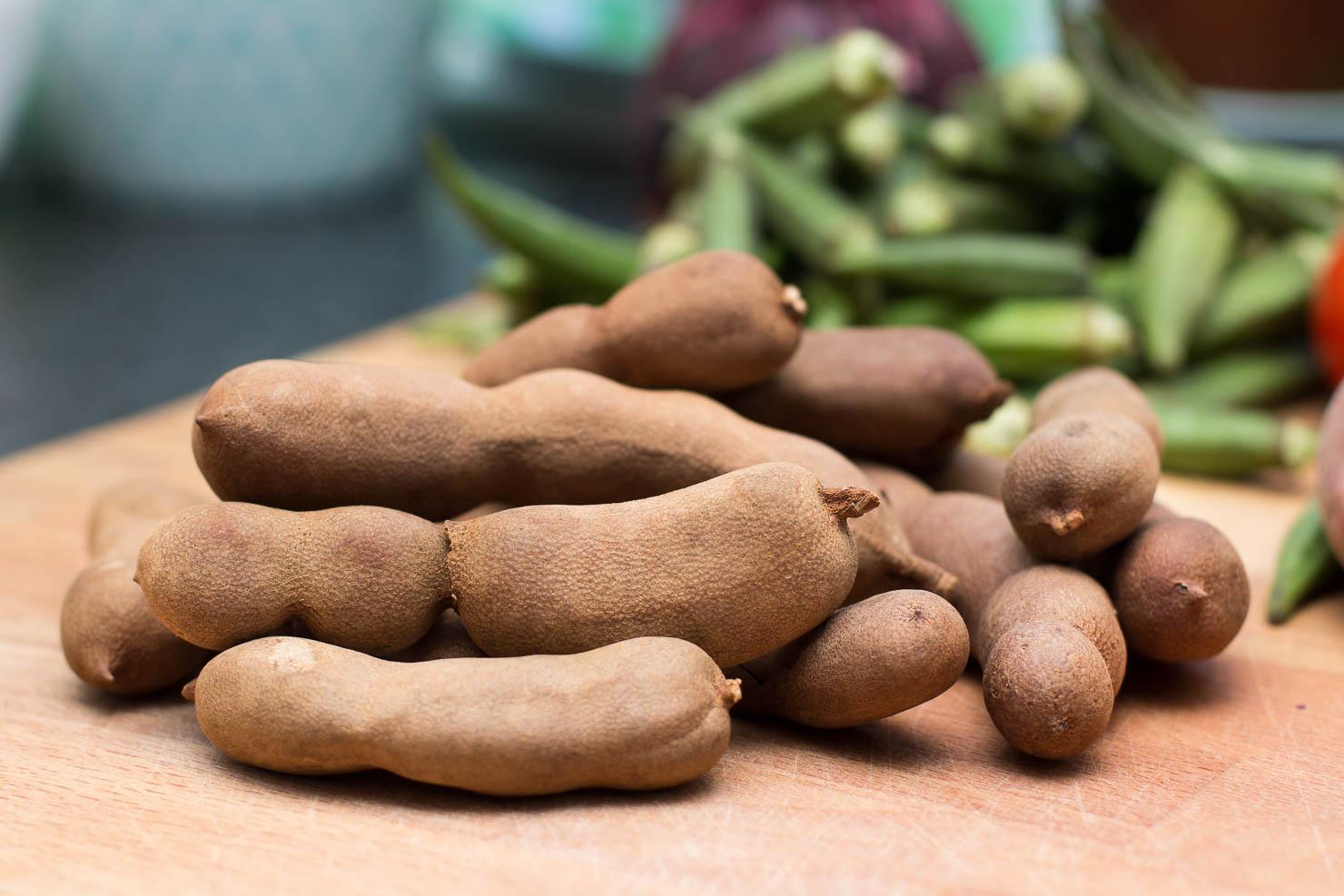 Tamarind | Tamarindsuppe med okra og svin