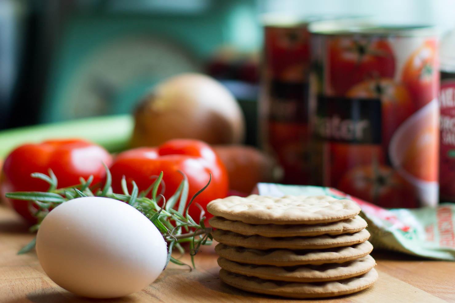 Ingredienser | Spaghetti med kjøttboller